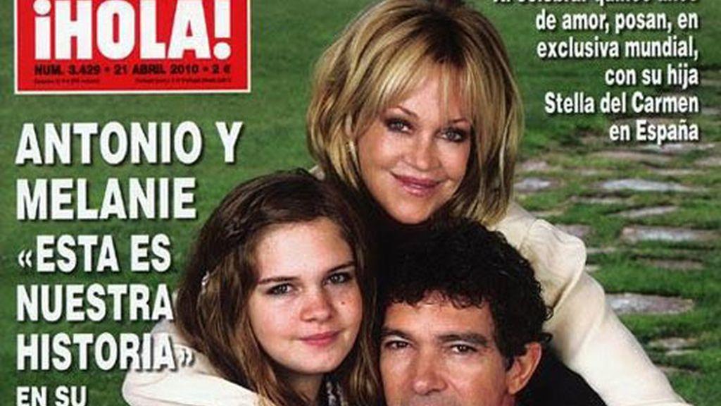 Antonio y Melanie: 15 fotos para 15 años