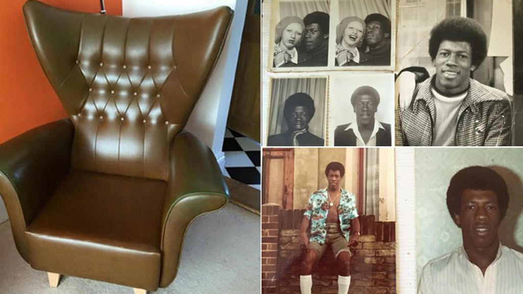 Compra un sillón y descubre un álmbum de fotos