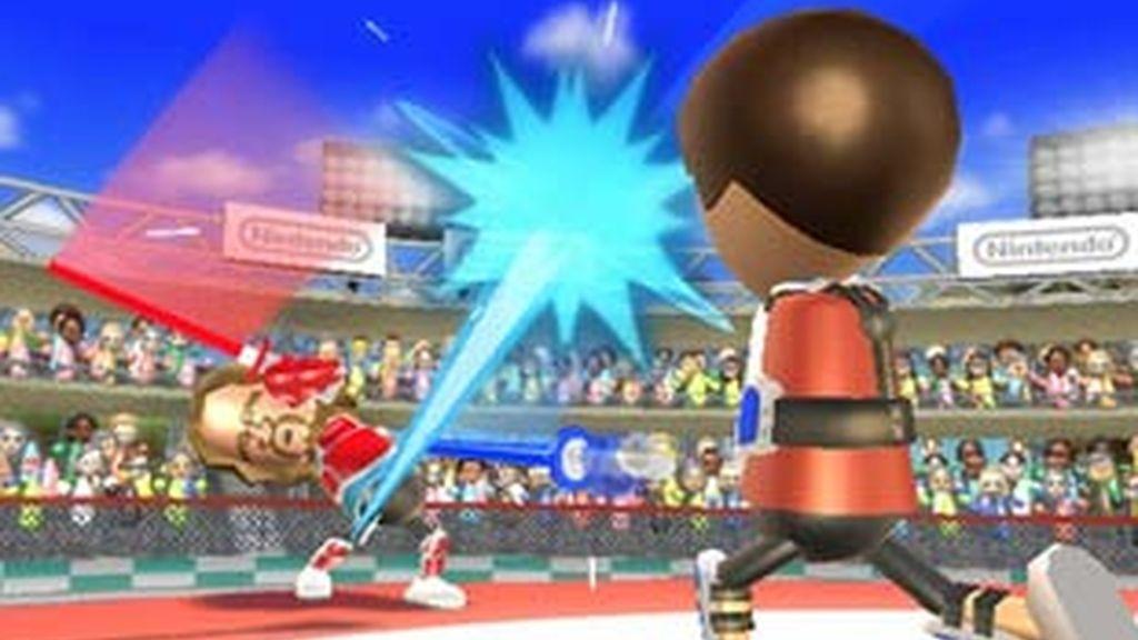 Captura del nuevo Wii Sports Resort. Foto: Nintendo.