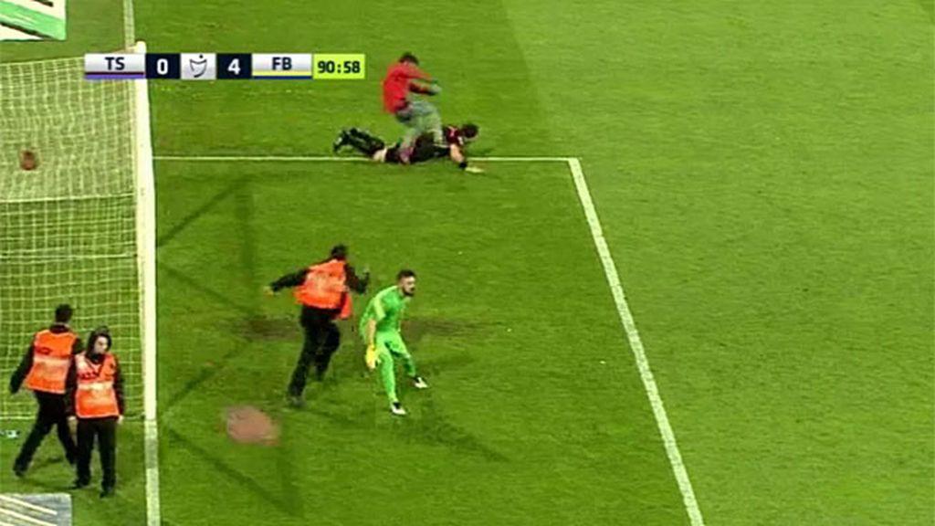 Turquía agresión árbitro