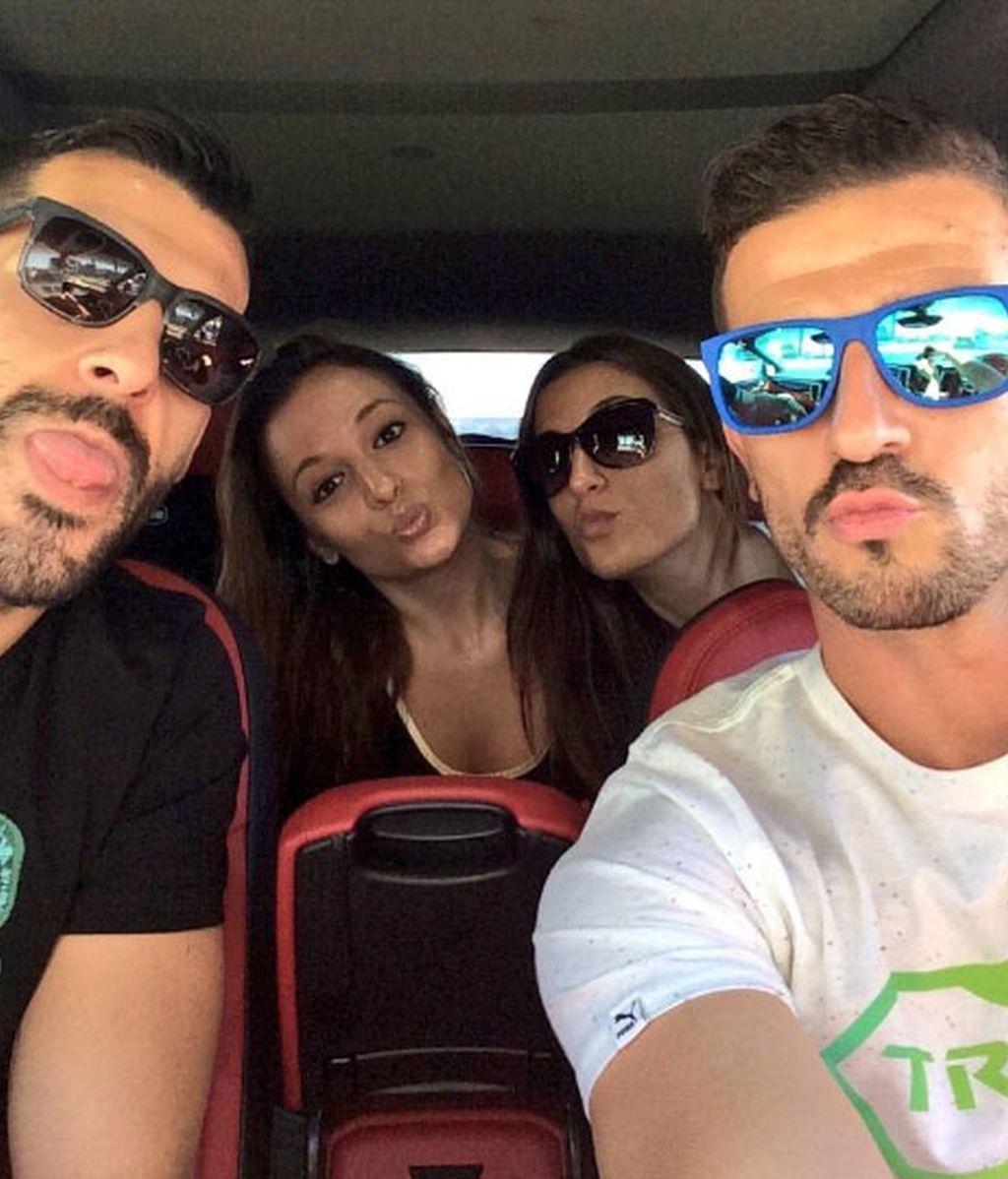 Alvaro Negredo y Javi Varas, vacaciones juntos
