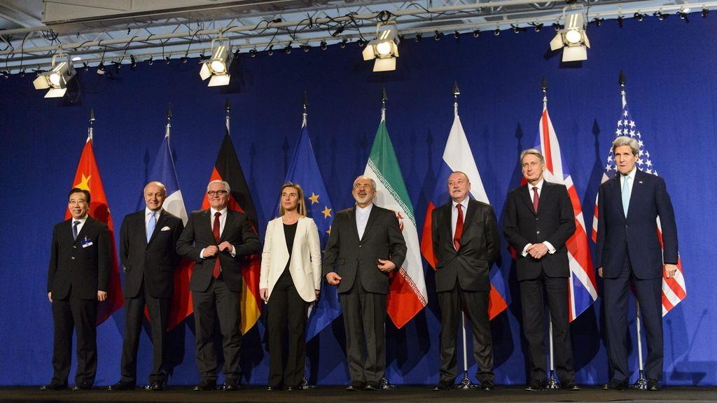 Irán y el 5+1 anuncian en rueda de prensa el acuerdo nuclear