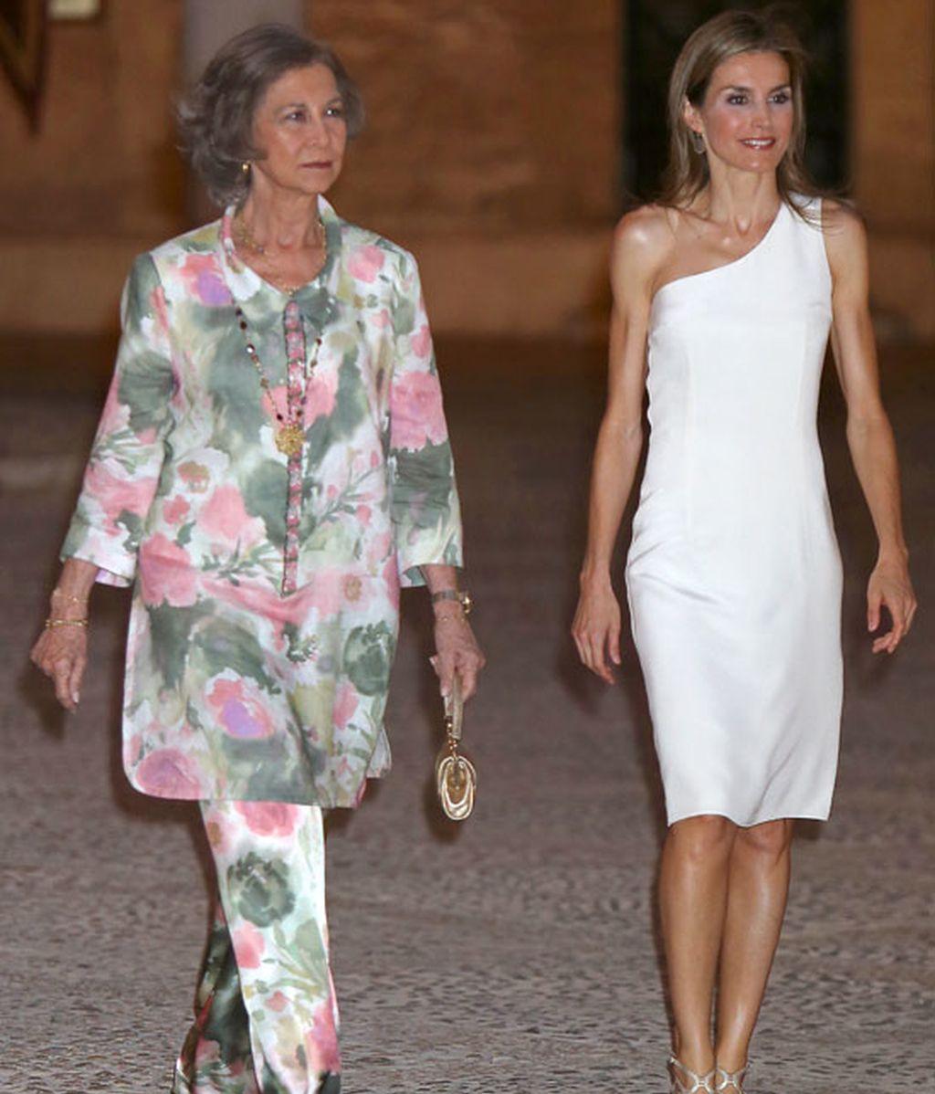 Carolina Cerezuela y Letizia Ortíz apuestan por un 'look' en blanco
