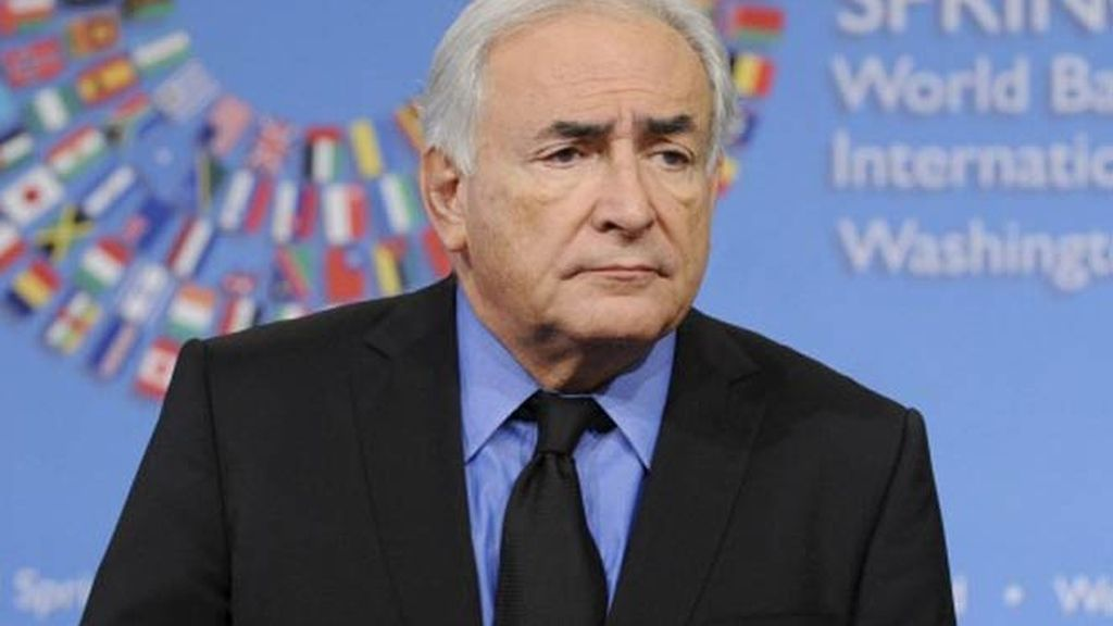 Dominique Strauss-Kahn, director del FMI.