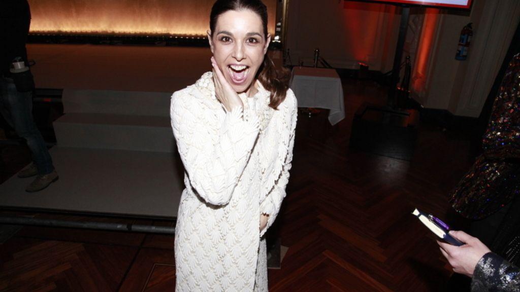 Raquel Sánchez Silva acudió a la fiesta con un diseño de Duyos