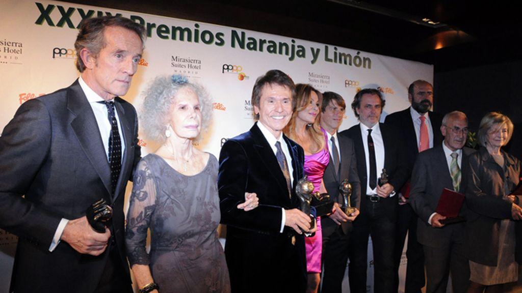 Ana Obregón se lleva el Premio Limón