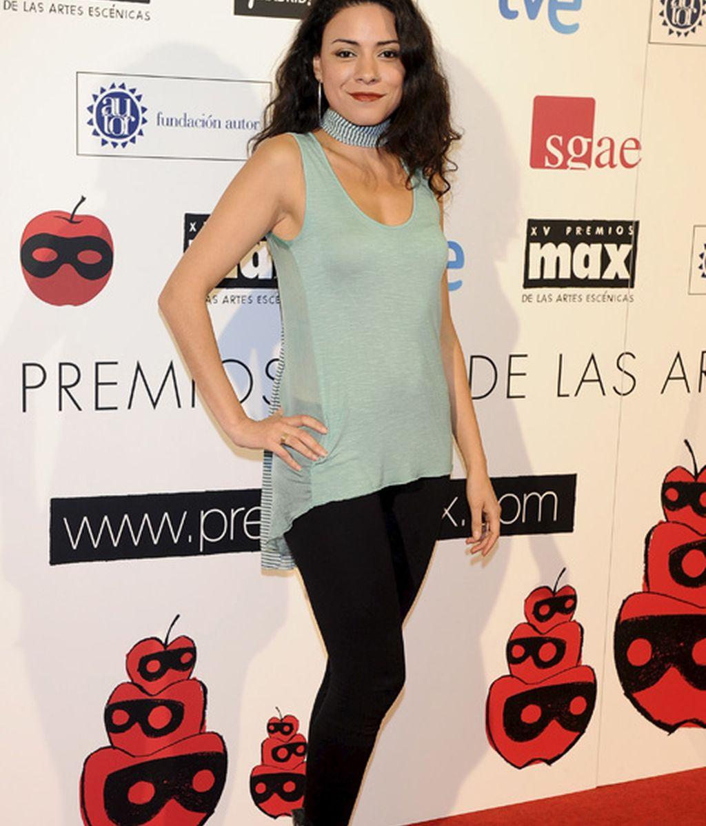 Ana Arias, como de andar por casa; María Castro, alzada 5 metros con sus peep toe