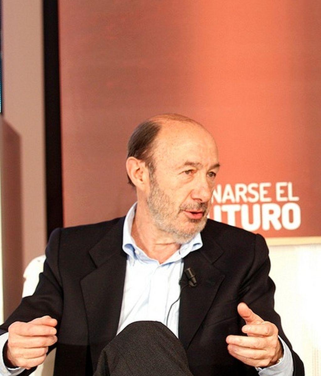 Rubalcaba en la Conferencia sobre Europa, Foto: PSOE