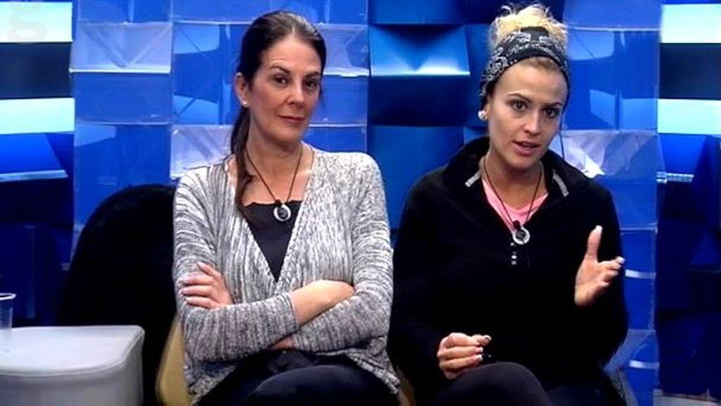 Ángela y Chari