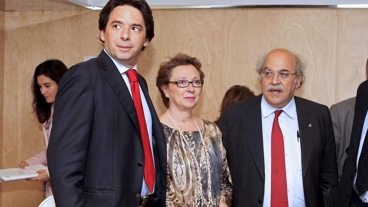 El consejero de Economía y Hacienda de la Comunidad de Madrid, Percival Manglano