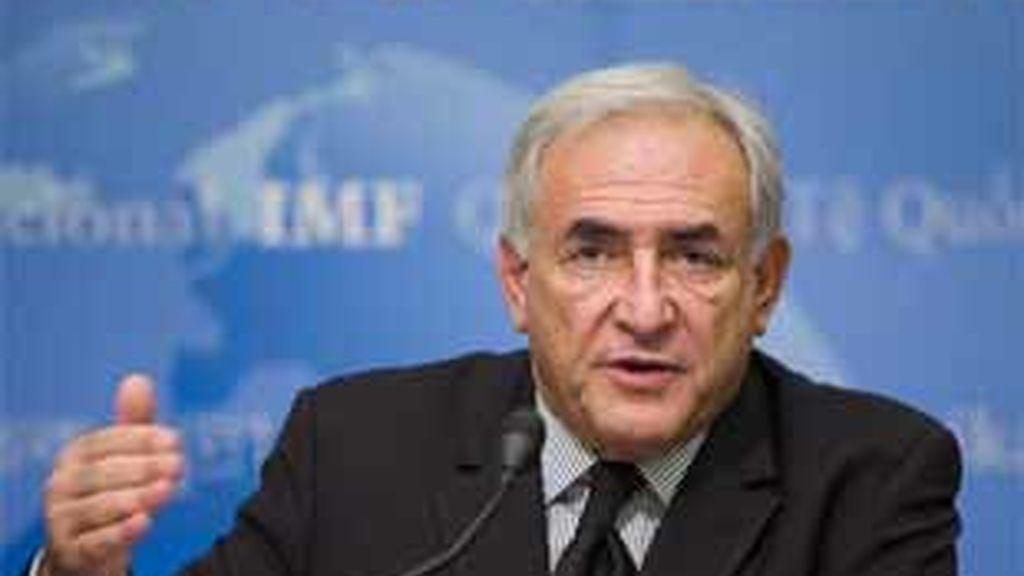 Imagen de archivo del director gerente del Fondo Monetario Internacional, Dominique Strauss-Kahn. Foto: EFE.