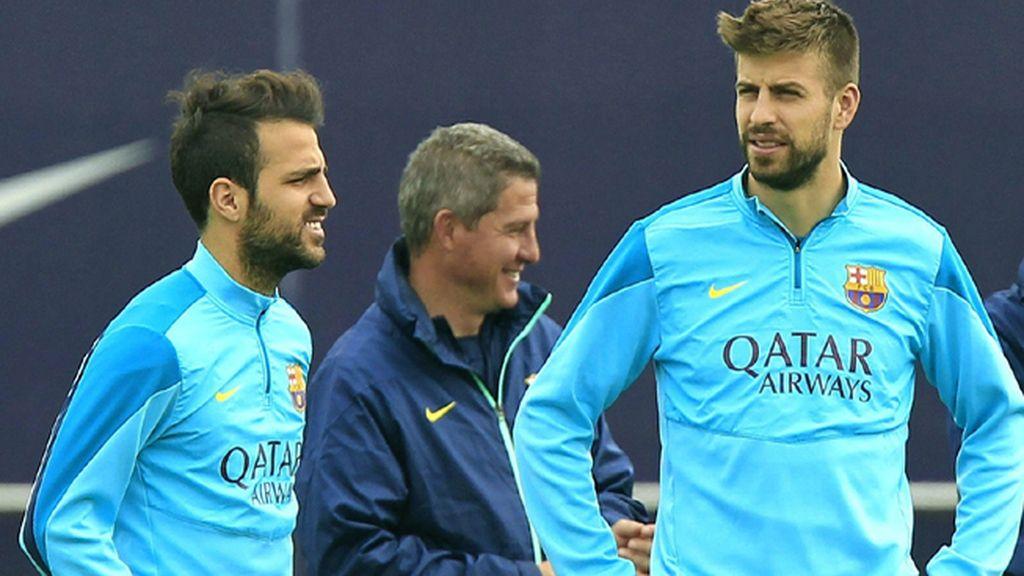 Piqué, principal novedad para el Bernabéu