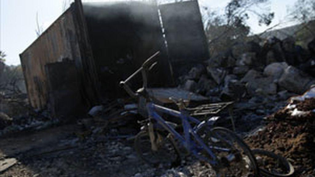 Un adolescente de 14 años se confiesa autor del mayor incendio de Israel