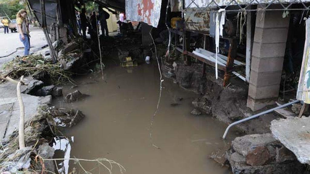 Fuertes lluvias en El Salvador