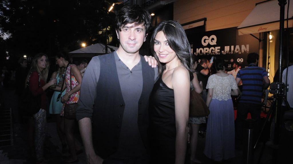 Eduardo Chapero-Jackson y Marta Fernández, con vestido de Hugo Boss