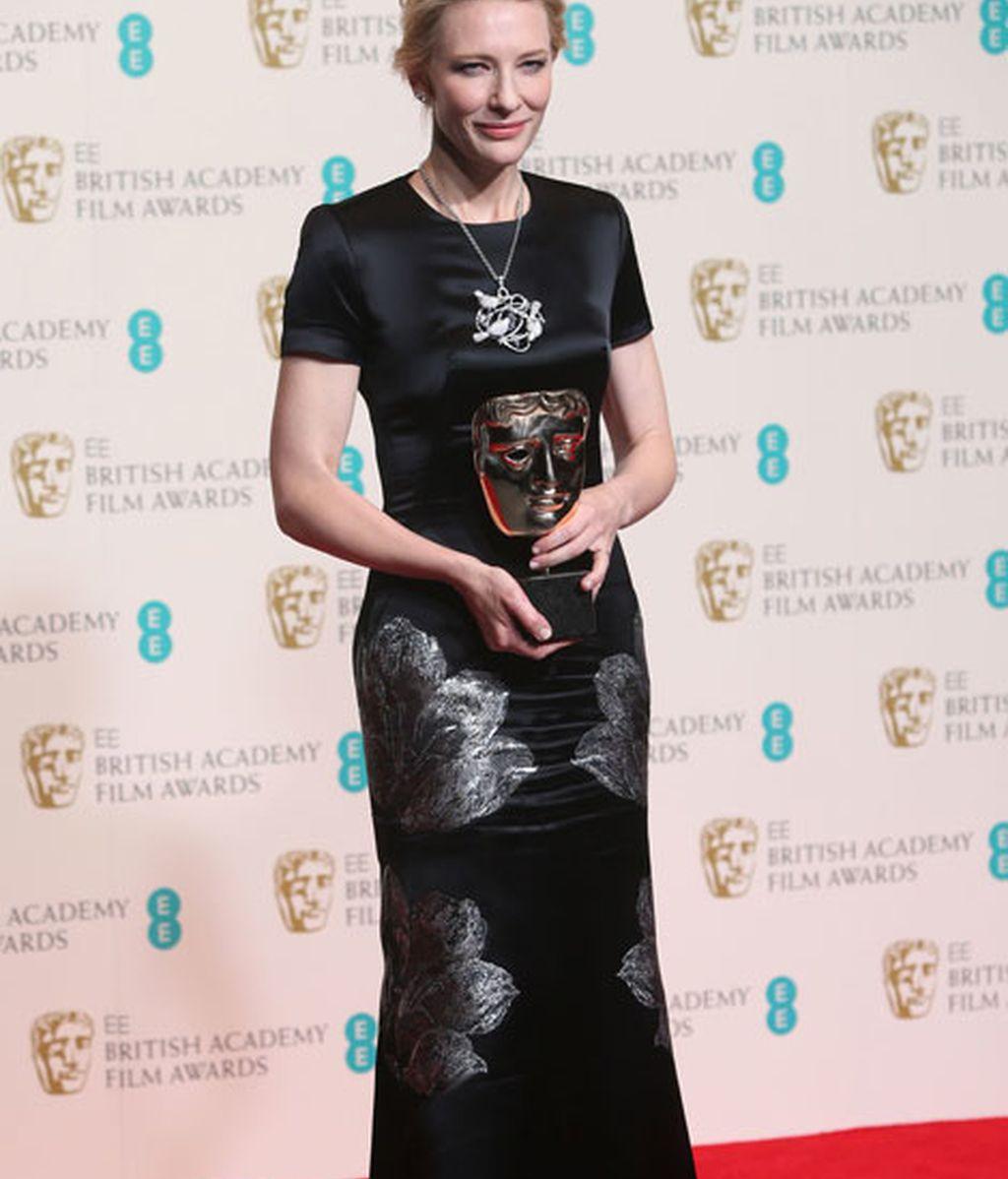 Cate Blanchett, mejor actriz por Blue Jasmine