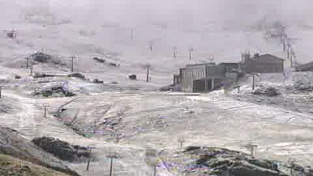 Llegan las primeras nieves