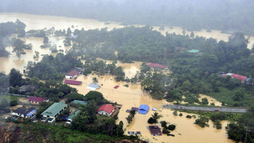 132.000 desplazados por las peores inundaciones de la historia de Malasia