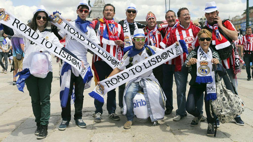 Lisboa, capital de la fiesta del fútbol