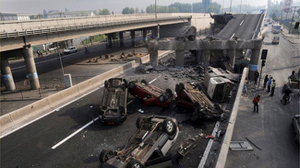 Un fuerte terremoto de 8,5 grados sacude Chile
