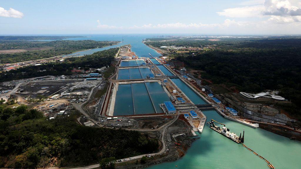 Todo listo en las obras de ampliación del Canal de Panamá