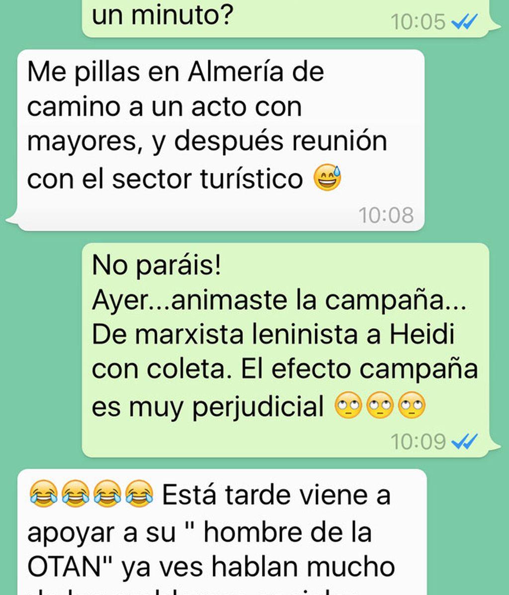 Rafael Hernando WhatsApp
