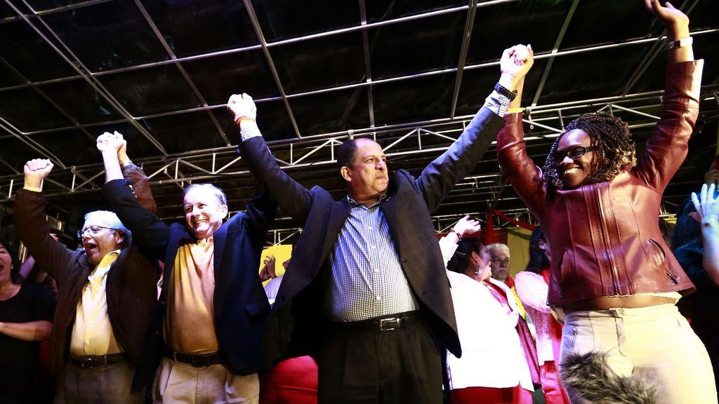 Luis Guillermo Solís, candidato en las elecciones de Costa Rica