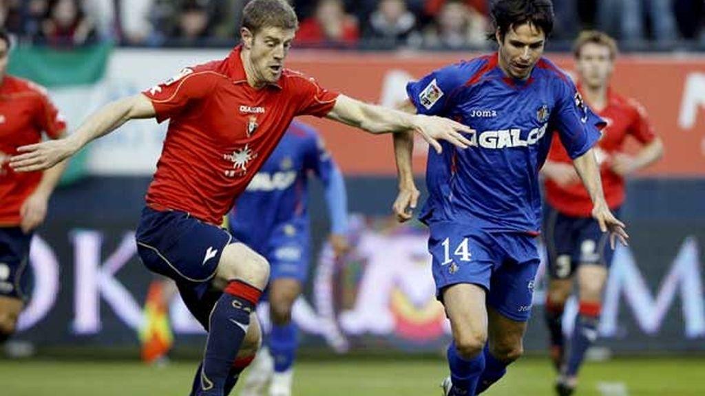 5-2. Osasuna se engancha a la permanencia con una reconfortante goleada al Getafe