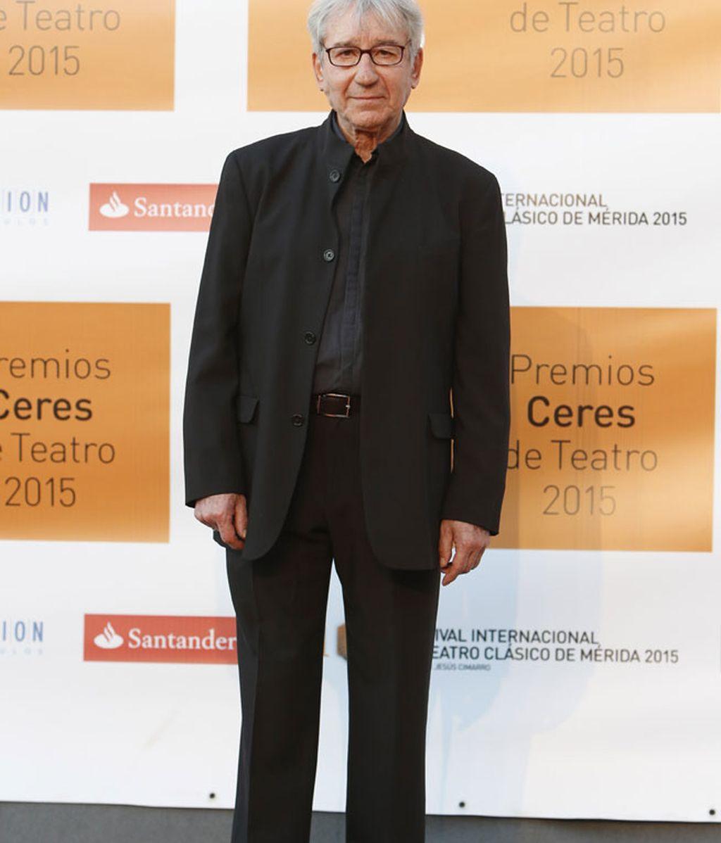 José Sacristán recogió el premio 'Emerita Augusta' a su trayectoria