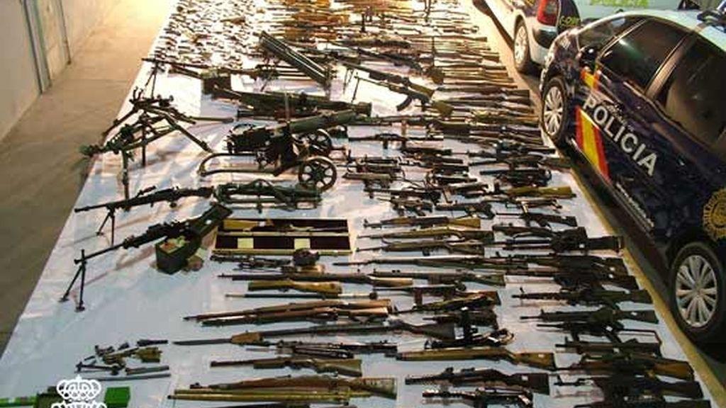 Arsenales de armas