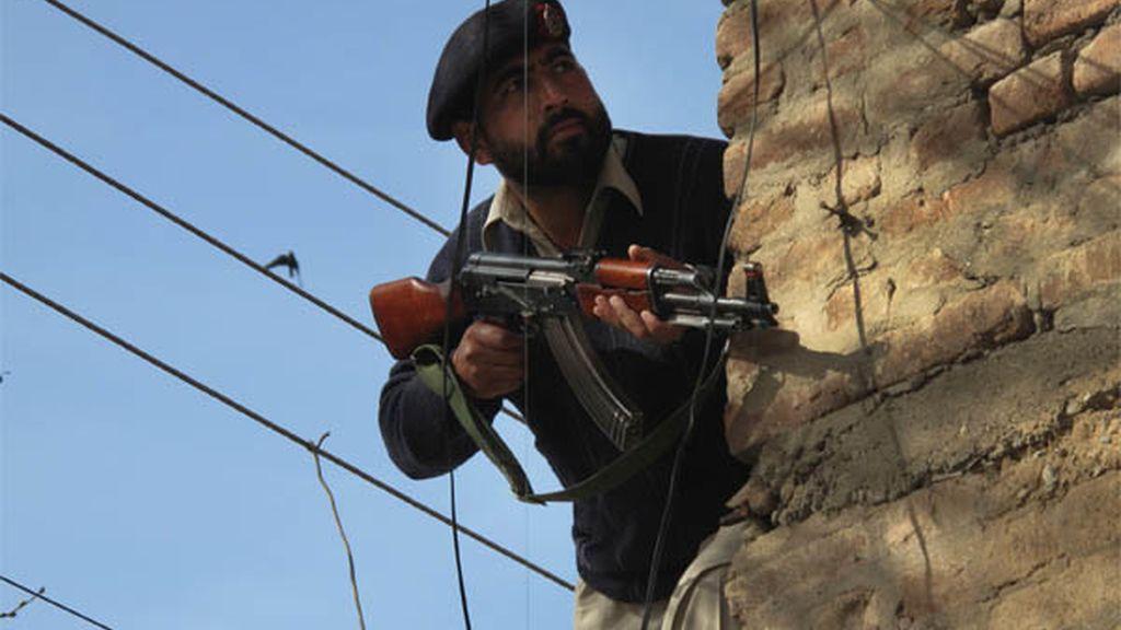 Ofensiva pakistaní contra los talibanes.