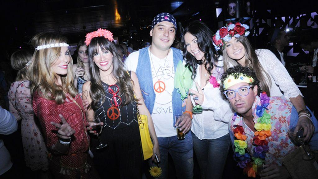 Raquel Rodríguez, Lily Bustamante, Antonio Camino, Natasha Romanov, Gabriela Mitheis y Joaquín Bustamante