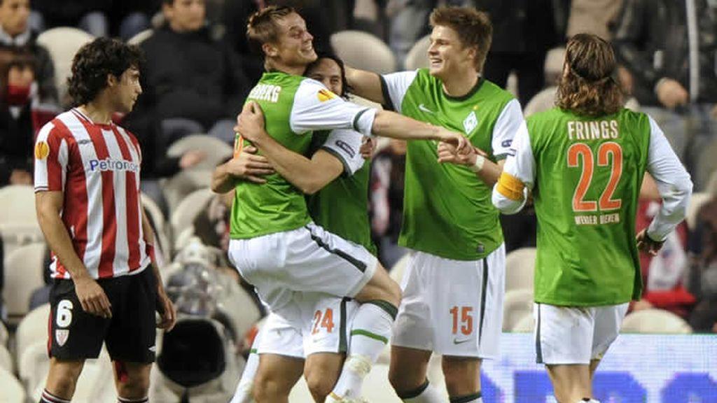 El Athletic, superado por el Werder Bremen