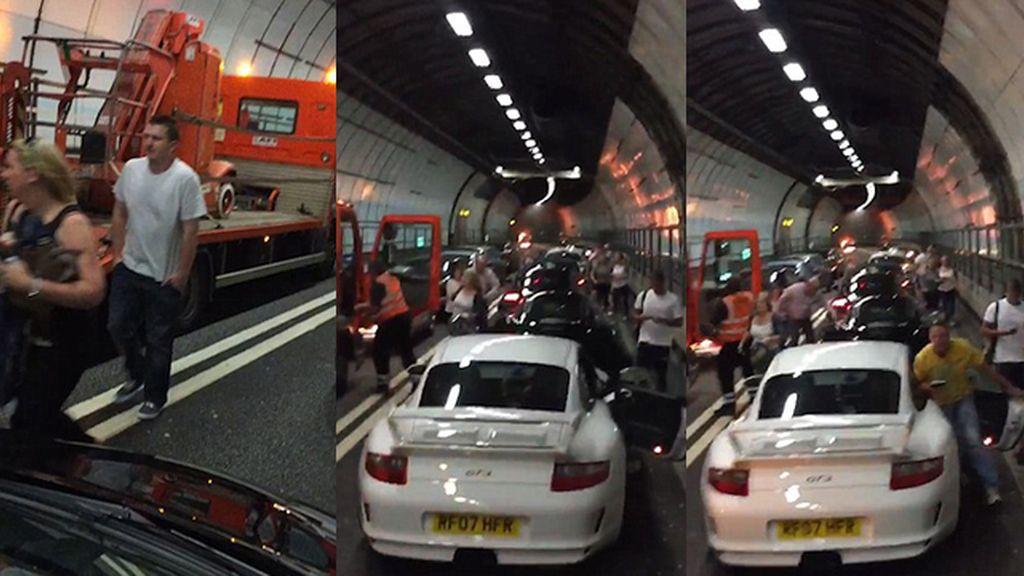 Pánico en el túnel de Dartford