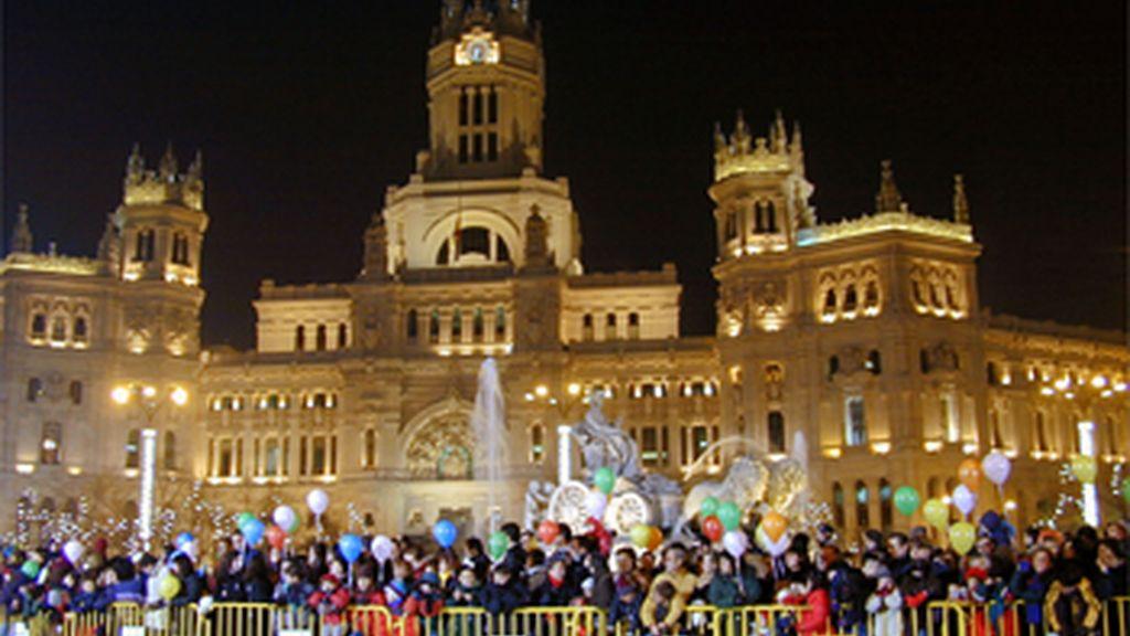 Cabalgata de Reyes en Madrid