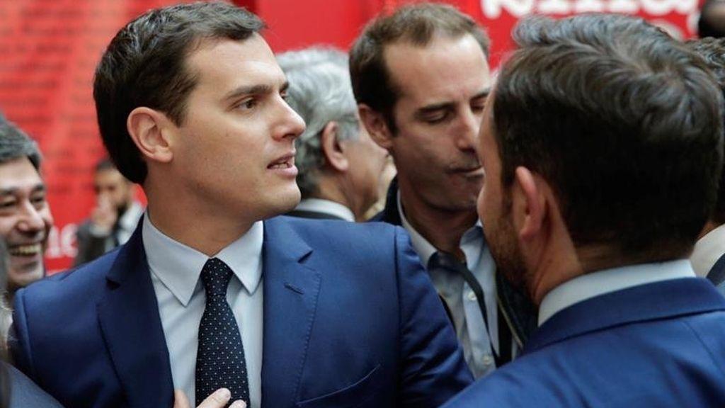 Rivera en el acto por el Día de la Comunidad de Madrid