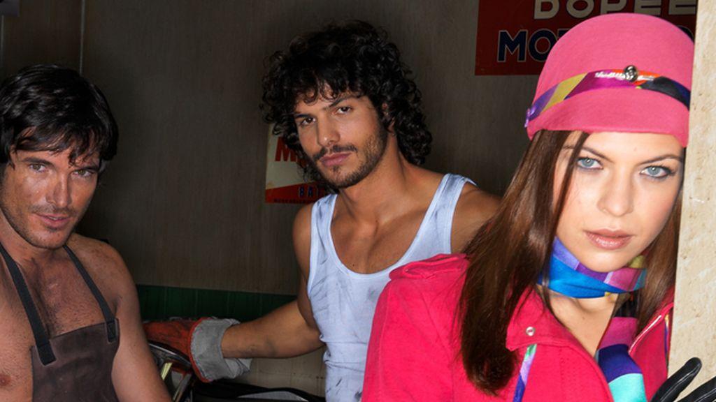 Rodaje de la promos: Pablo, Mario e Isabel