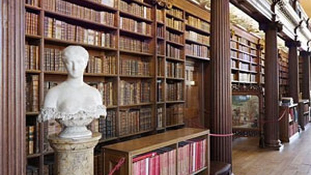 Una de las bibliotecas de la Universidad de Oxford. DAILY MAIL.