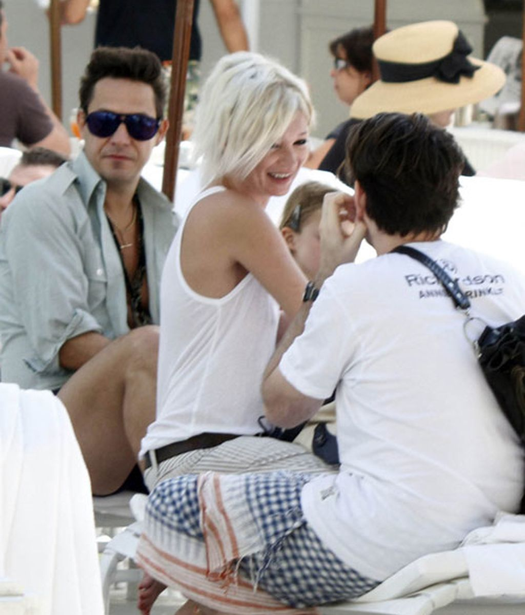 Kate Moss se pasea por Copacabana