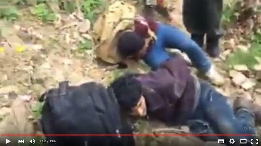 Refugiados cazados en Bulgaria