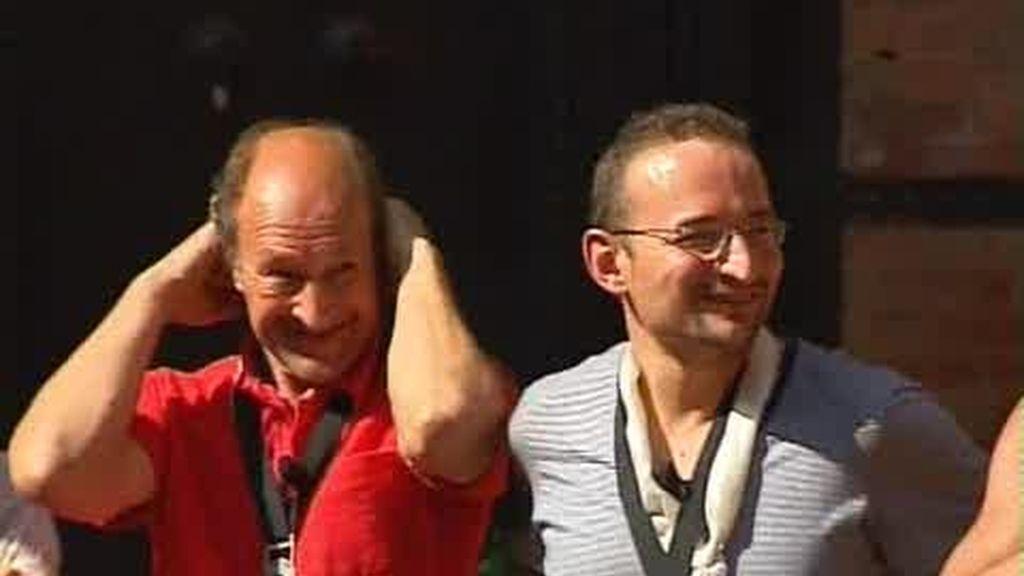 Juan y Juan Jr ganadores de la séptima etapa
