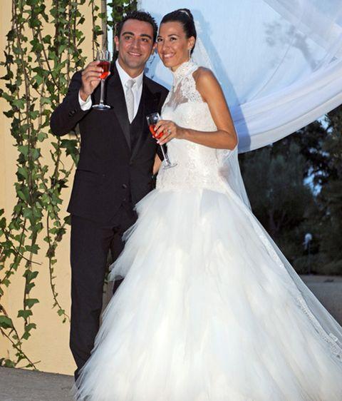 diez aciertos y diez errores en la boda de xavi hernández