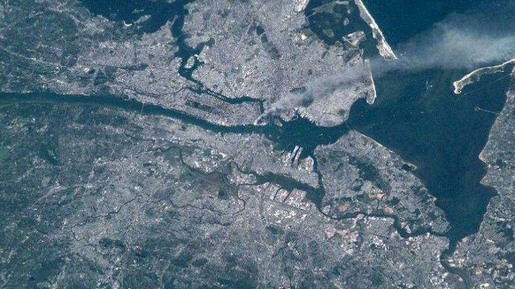 Anticipo de una grabación jamás emitida del 11-S visto desde el espacio