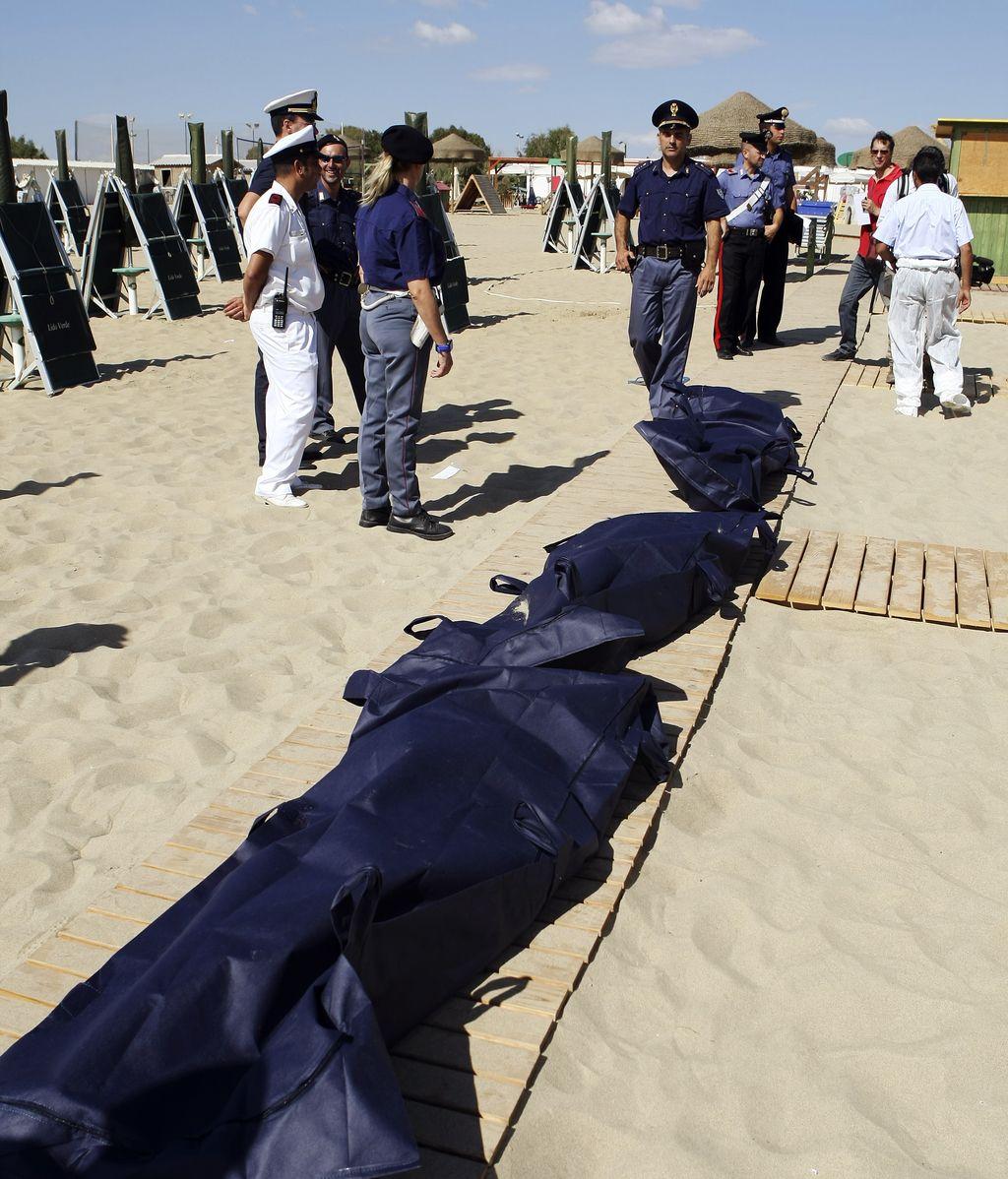 Mueren ahogados seis emigrantes a pocos metros las costas de Sicilia