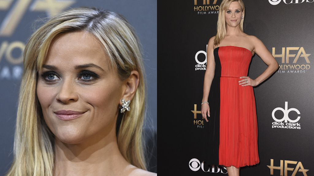 Reese Witherspoon, rojo y negro