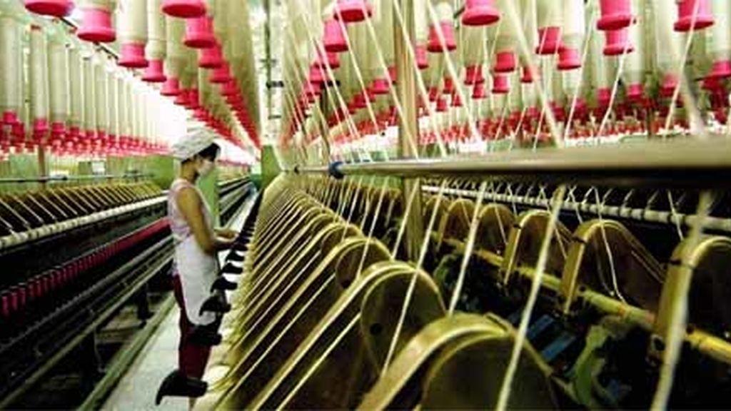 Fábrica de producción textil