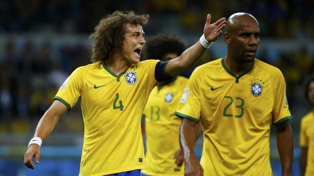 Maicon, David Luiz, Brasil