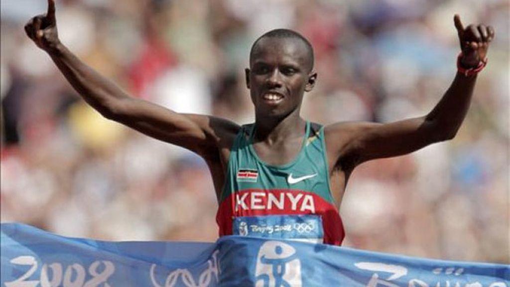 Kenia gana por primera vez la prueba de maratón