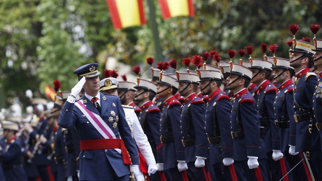 Felipe VI en del Día de las Fuerzas Armadas