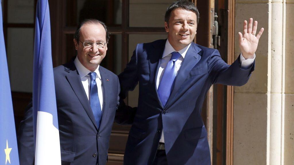 Hollande reúne a los jefes de Gobierno socialistas de la UE para discutir sobre la Comisión